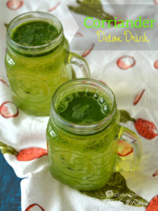 detox water helps to control thyroid