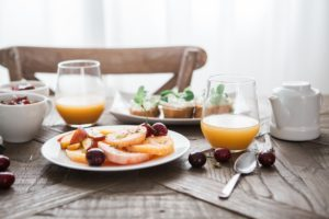 healthy breakfast helps to reduce weight